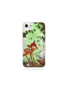 Bambi with forest friends Glitter Case