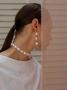 pearl choker