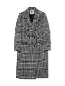 Check Wool Coat 2