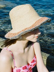 SHORE STRAW HAT