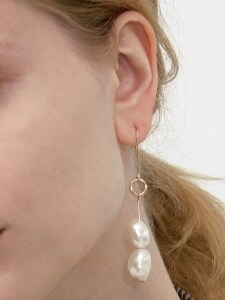 Ugly Pearl Single Earring