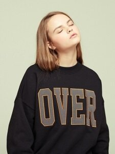 OVER SWEATSHIRT BK