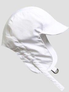 [unisex]SATIN TROOPER HAT WHITE