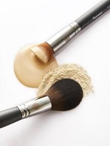도자기 피부 세트 (New 133 fixing powder+131 foundation/blusher+파우치)