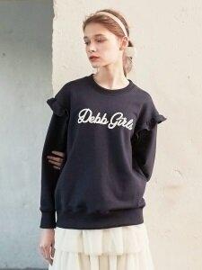 [D7AMB2020M] DEBB girls 미니 러플 스웨트셔츠