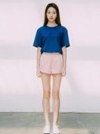 Womens Pale Shorts - Pale Pink (���Ǵ�ǰ)