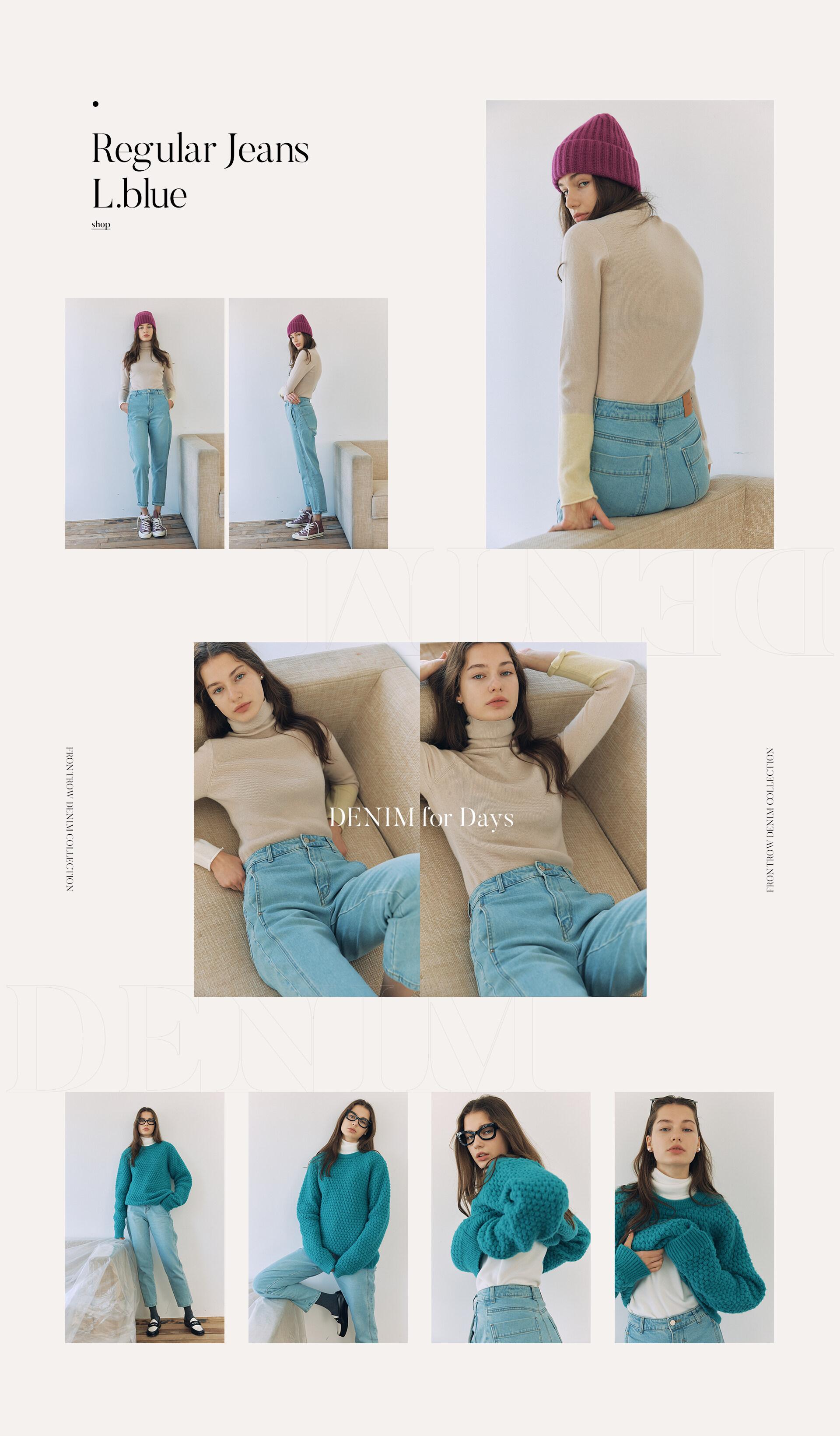 Regular Jeans L.blue