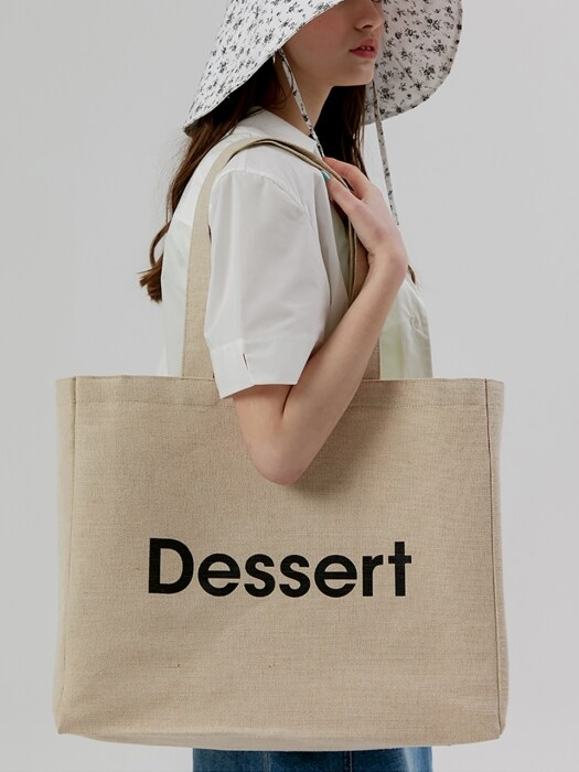 Dessert Eco Bag [Beige]