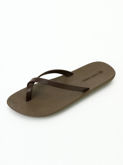 [WOMEN] FlipFlop2, Brown-Chocolate