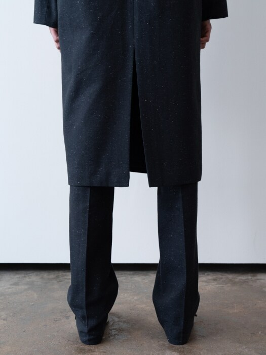 slim slacks (navy)