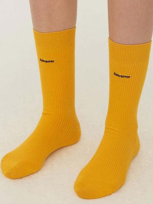 Basic ader socks Yellow