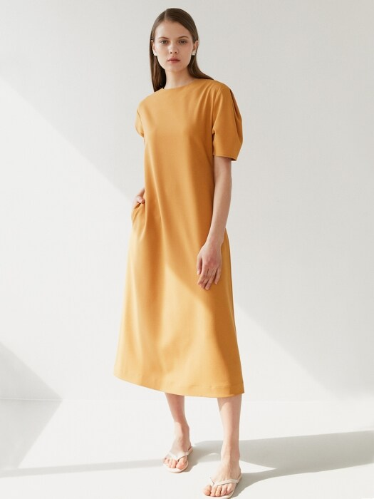long dress-yellow