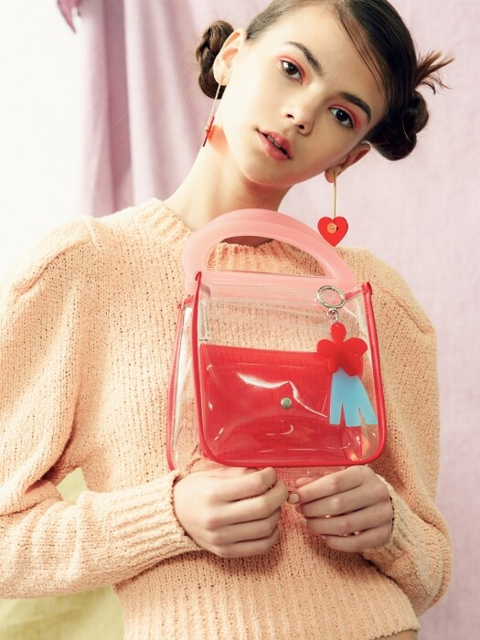 Bensimon X High Cheeks HANDBAG - RED PUDDING