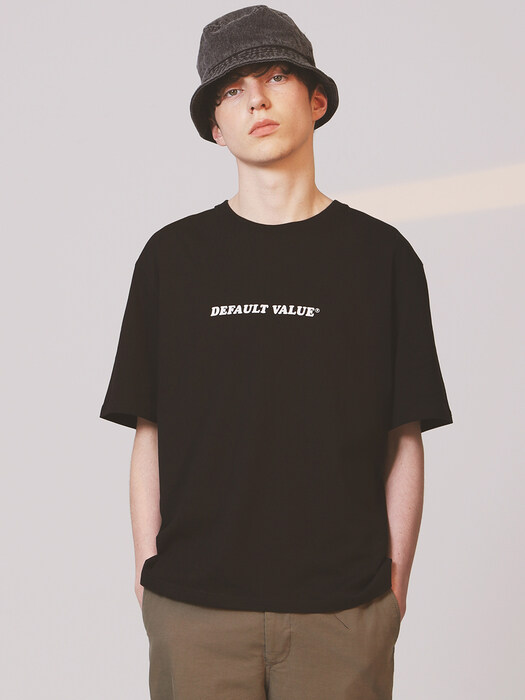 DV TEXT TEE(BLACK)
