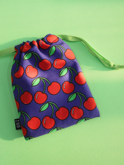 cherry string pouch s