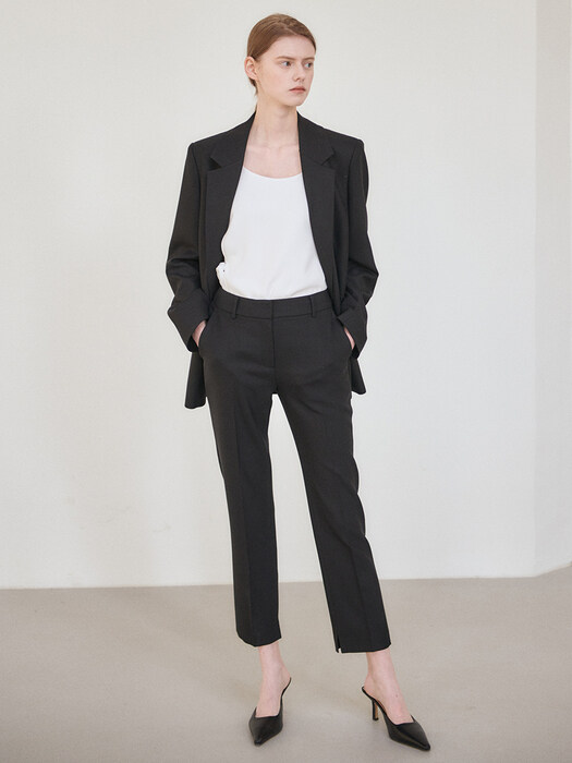 21SN suit pants [BK]