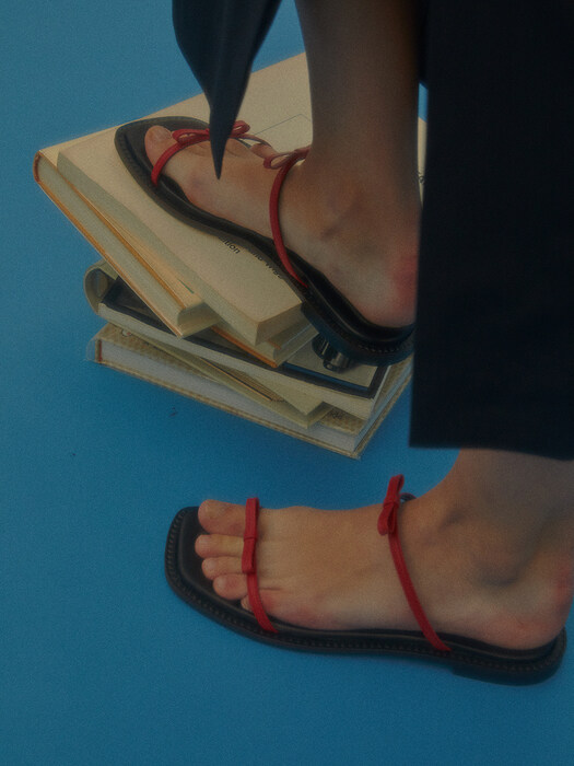Lily sandals / 20SS-S429 Red