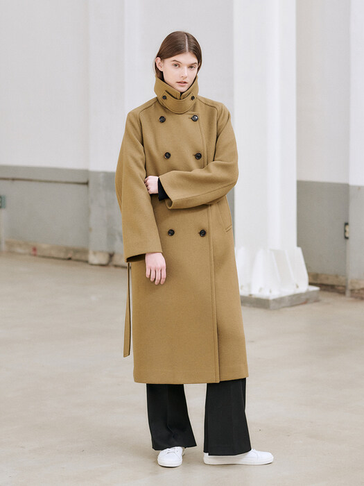 20WN wool trench coat [K/BE]