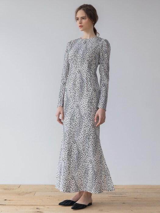 Long Slit Printed Dress_IV