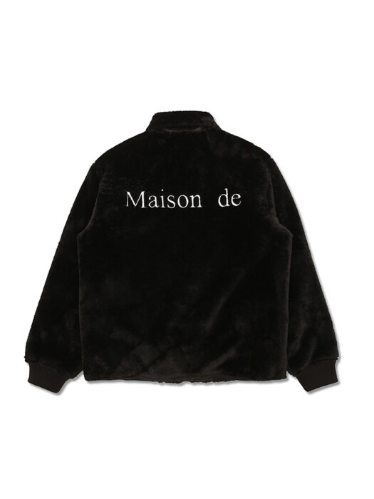 Reversible Maison de Fur Jacket [Black]