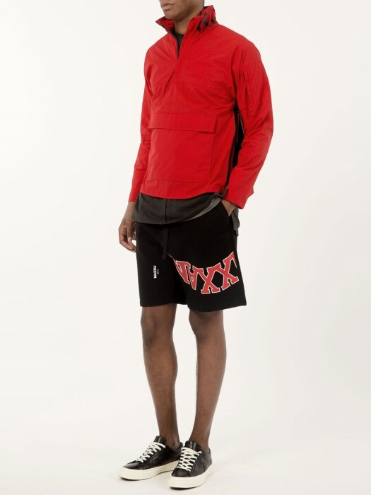 Anorak Jumper Red/Black (Genderless)