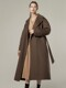 Round sleeve handmade coat - 3colors