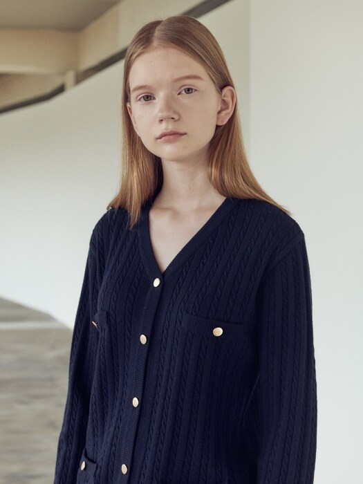 19FN cable cardigan [NA]