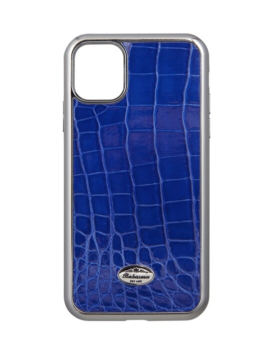 iPhone 11 pro/ iPhone 11 pro max crocodile Royal blue