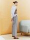 [Classy Cotton] Cotton Two Tuck Wide-leg Trousers_2color