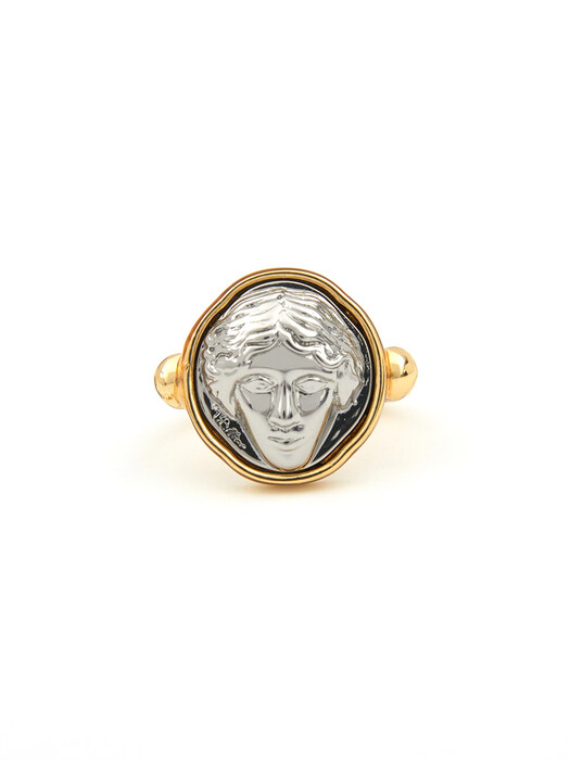 Silver Liberty Lady Ring