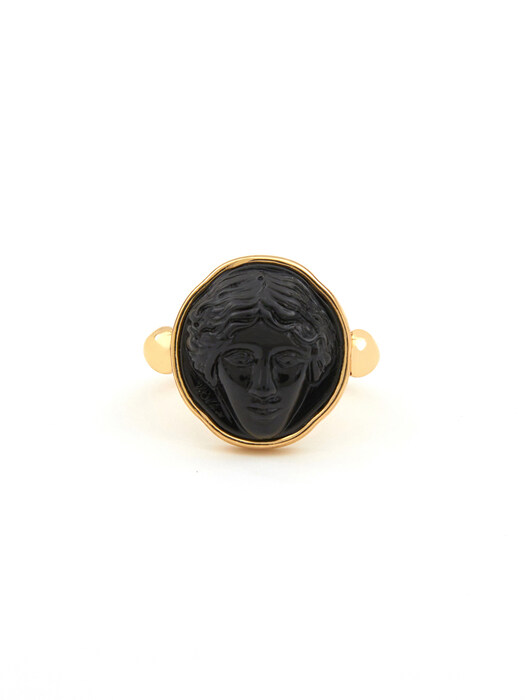 Black Liberty Lady Ring