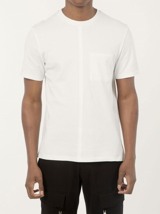 Slim Fitted Tshirt White (Genderless)