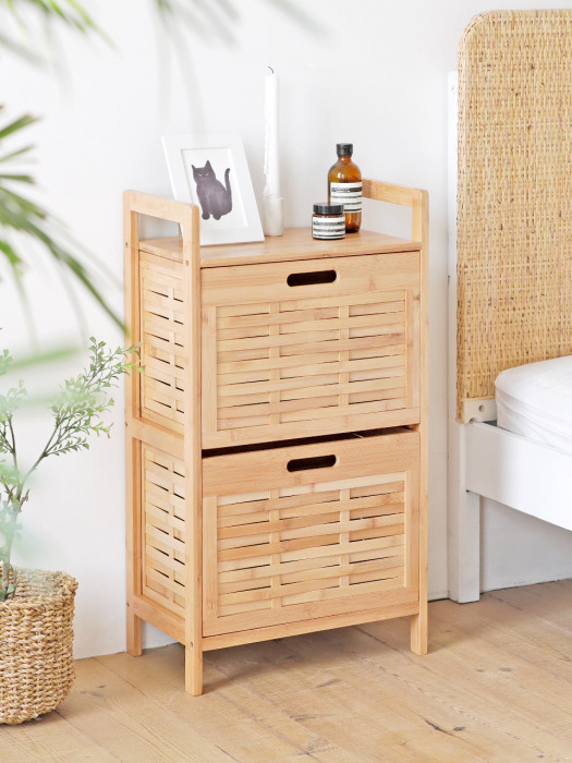 Bamboo Drawer 2Tier