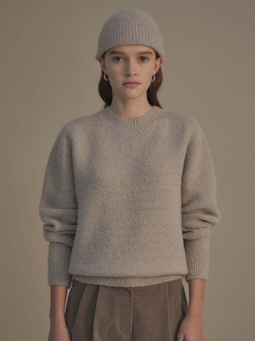 Soft crumb knit (Light taupe)