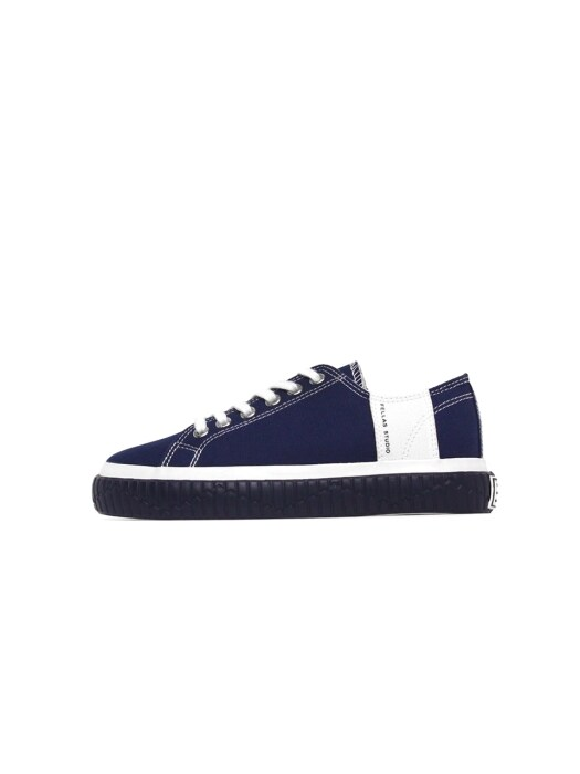[Fellas Studio] Silhouette Lo Navy / White MEN