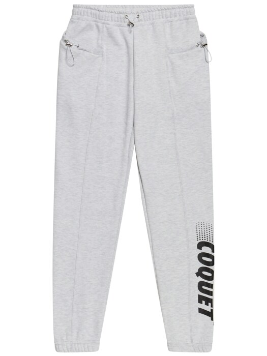 665g STRING SWEAT JOGGER PANTS WHITE