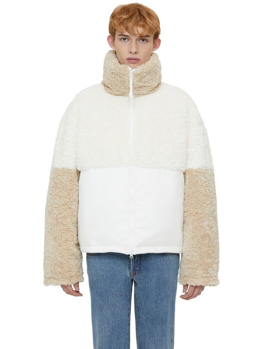 NOMAD SHEARING REVERSIBLE JUMPER