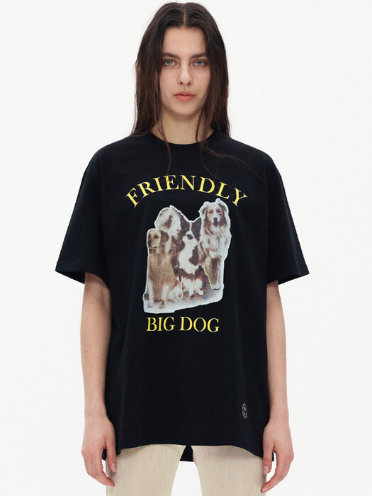 BIG DOG T-SHIRT, BLACK