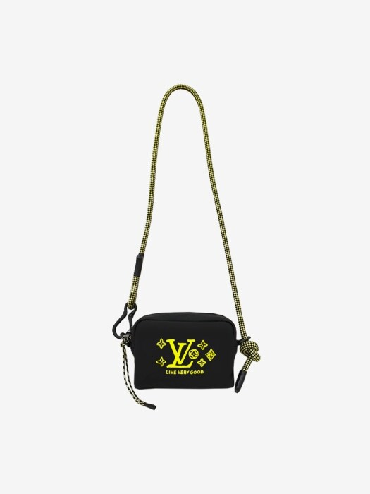 [UNISEX] 19FW LV GOOD CAMERA BAG BLACK EGY121