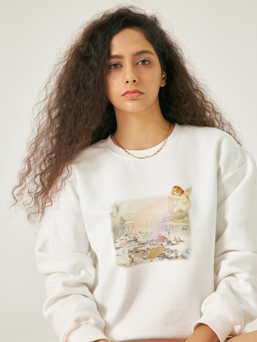 harp angel sweat shirt
