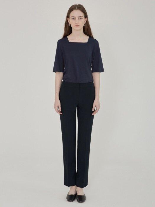 SS' PENCIL STRAIGHT TROUSERS