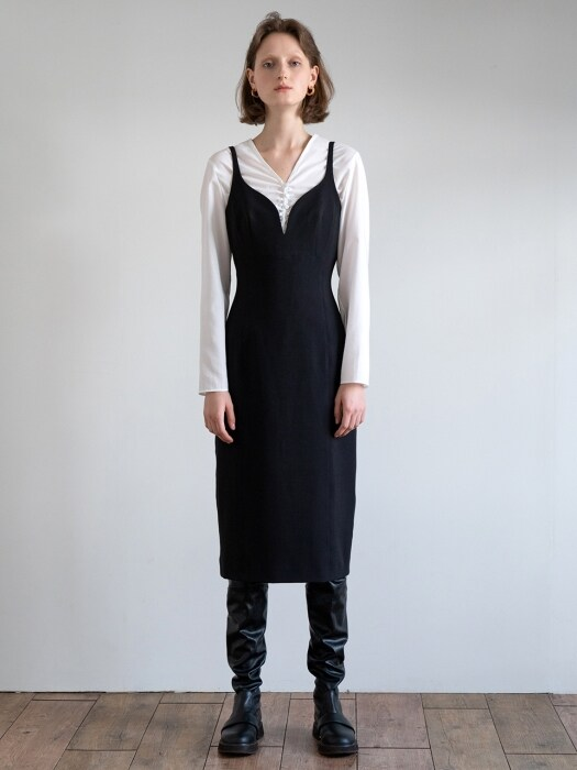 19FW MIDI DRESS (BLACK)