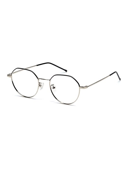 FEATHER GLASSES (SILVER BLACK)