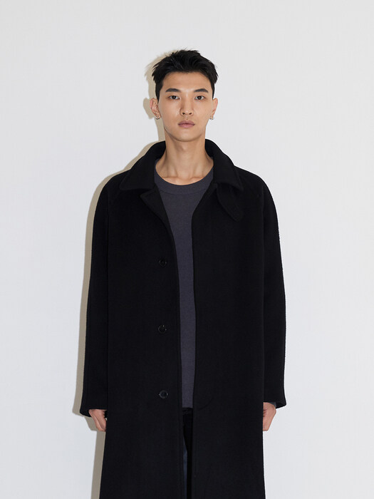 BALMACAAN COAT JA [BLACK]