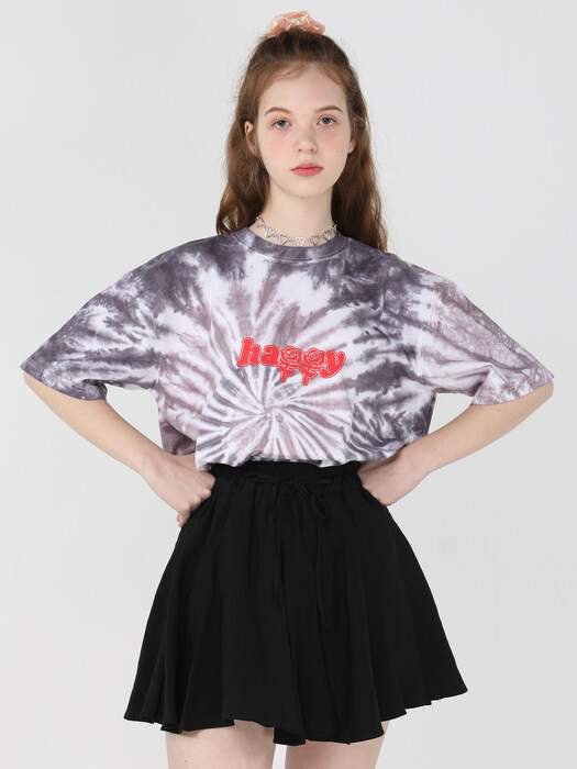 2021 Signature tie-dye T shirts [Black]