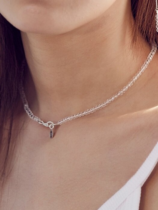[Silver] CRYSTAL B CHOCKER
