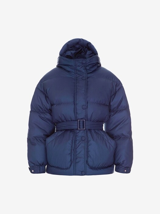 [WOMEN] 19FW MICHLIN GOOSE DOWN JACKET SPACE BLUE