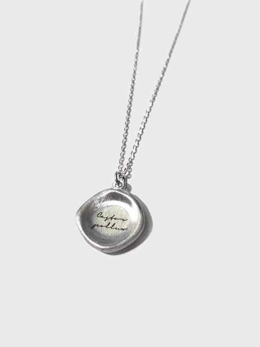 907 Crater Seal Necklace