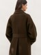 CASHMERE SINGLE COAT [HAND MADE] KHAKI