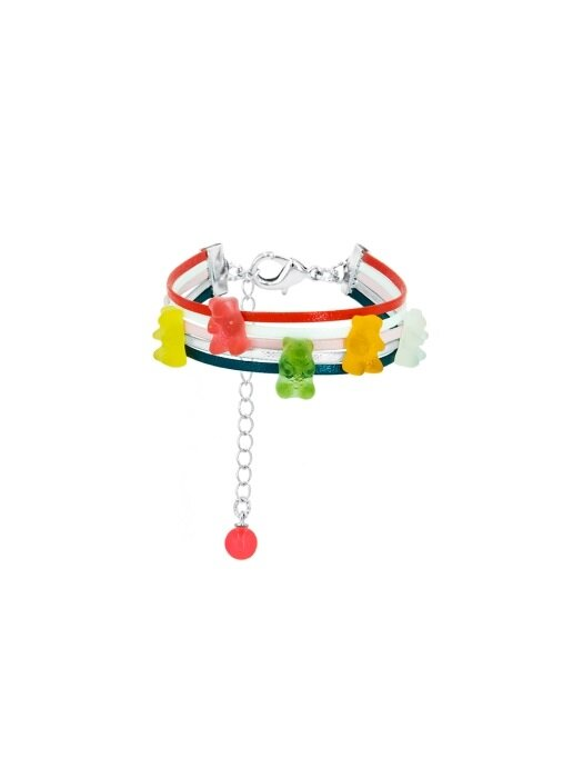 JELLY BEAR BRACELET (MULTI VIVID)